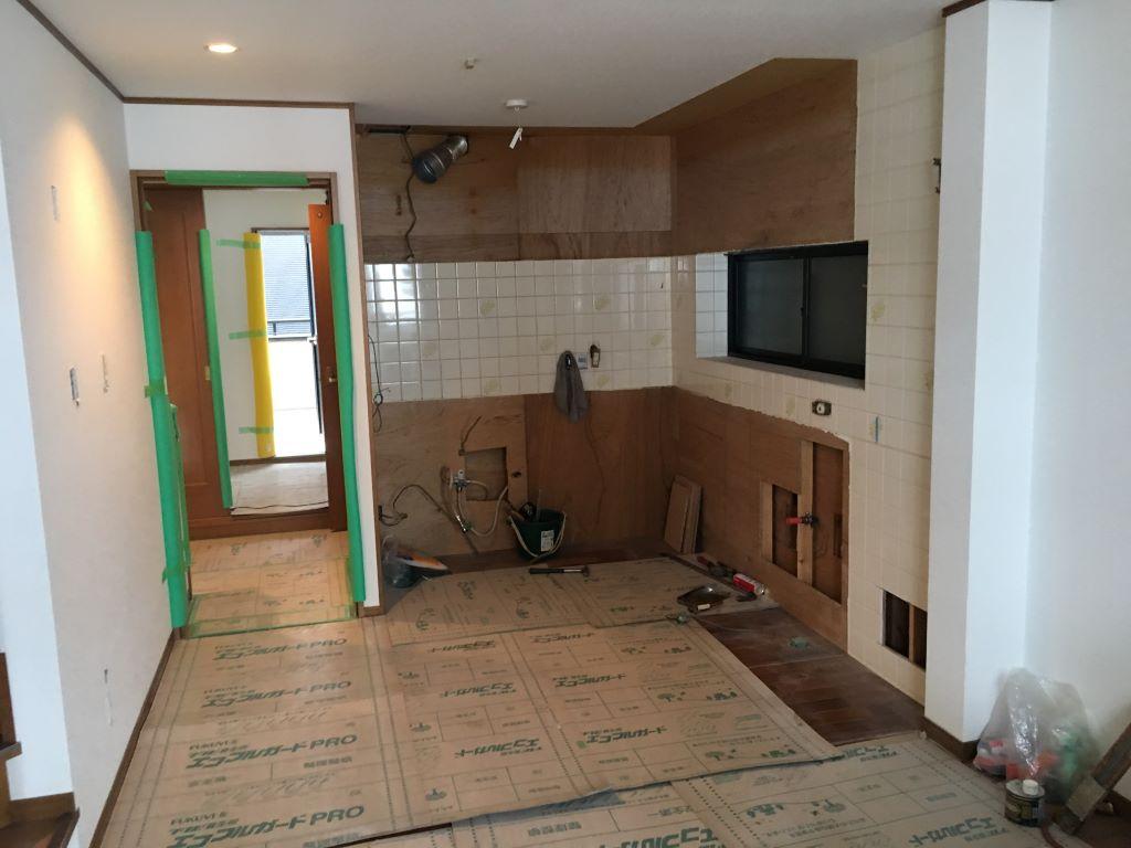 天王寺区中古戸建のリフォーム解体撤去作業終了しました。