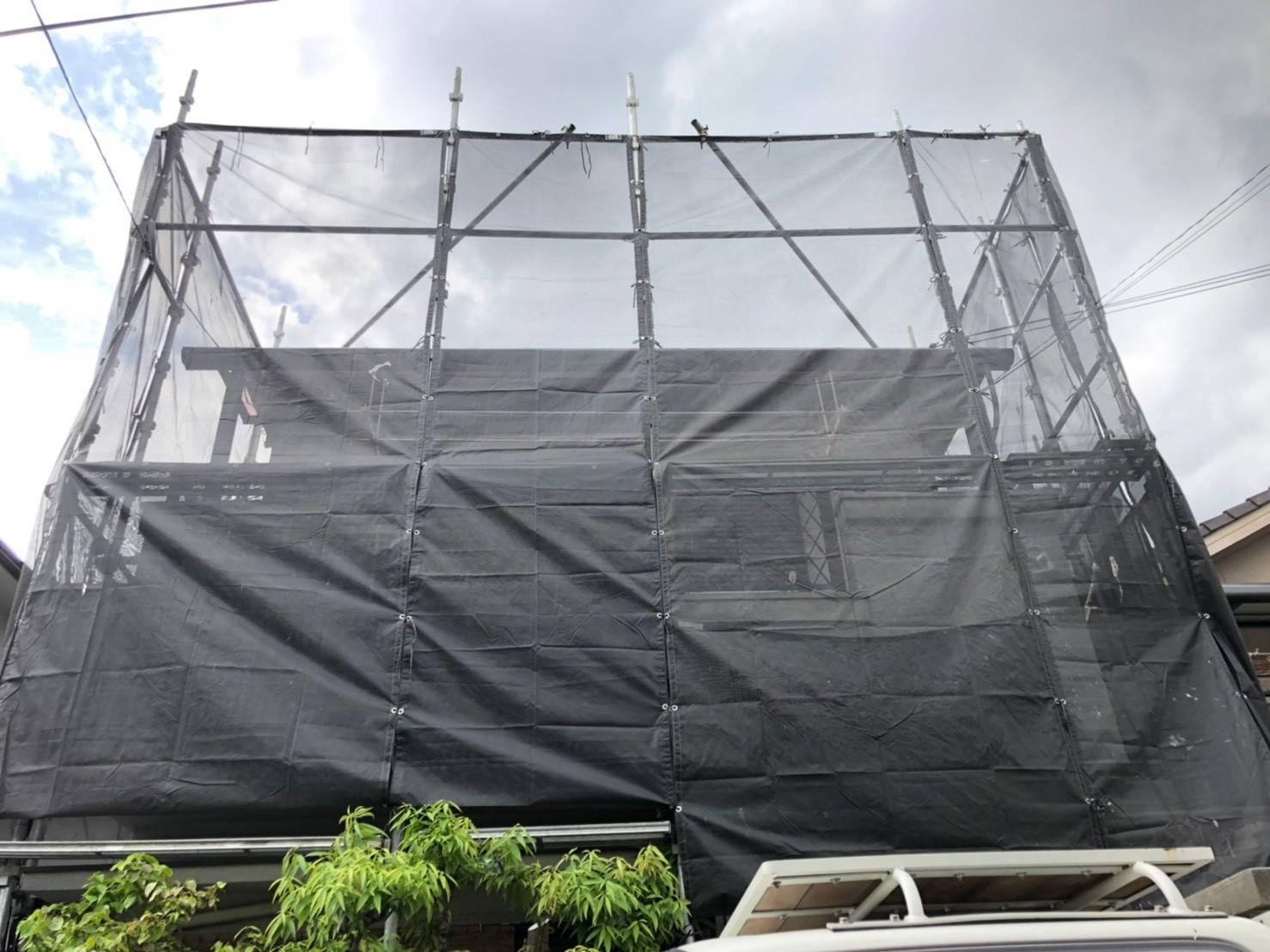柏原市戸建てリフォーム開始致しました。