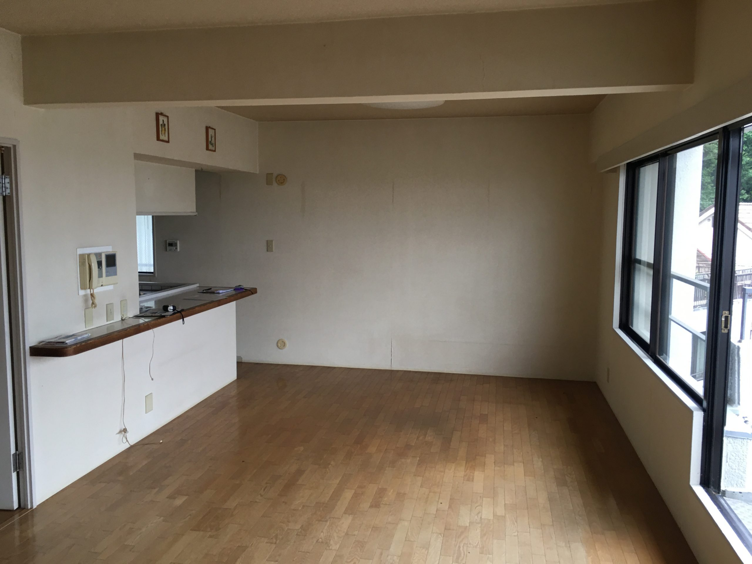 箕面市のマンションのリフォームが始まります!!